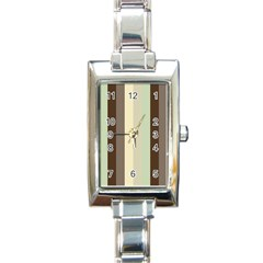 Mint Sunday Rectangle Italian Charm Watch