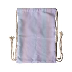 Albino Pinks Drawstring Bag (small) by snowwhitegirl