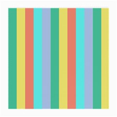 Summer Stripes Medium Glasses Cloth by snowwhitegirl