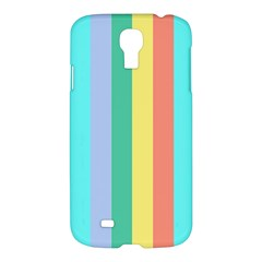 Summer Stripes Samsung Galaxy S4 I9500/i9505 Hardshell Case by snowwhitegirl
