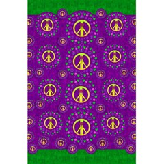 Peace Be With Us In Love And Understanding 5 5  X 8 5  Notebooks by pepitasart