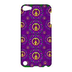 Peace Be With Us In Love And Understanding Apple Ipod Touch 5 Hardshell Case by pepitasart