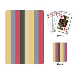 Summer Rose Playing Card