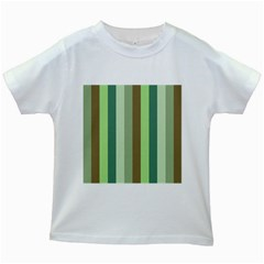 Pistachio Ice Cream Kids White T Shirts
