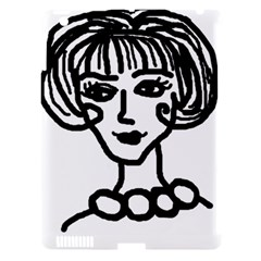 20s Girl Apple Ipad 3/4 Hardshell Case (compatible With Smart Cover) by snowwhitegirl