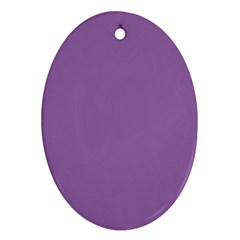 Another Purple Ornament (oval)