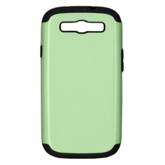 Baby Green Samsung Galaxy S Iii Hardshell Case (pc+silicone)