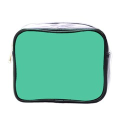 Seafoamy Green Mini Toiletries Bags by snowwhitegirl