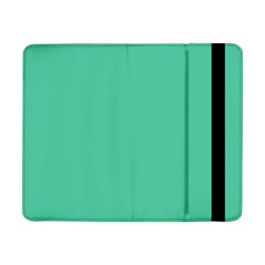 Seafoamy Green Samsung Galaxy Tab Pro 8 4  Flip Case by snowwhitegirl