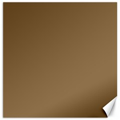 Brownish Canvas 12  X 12   by snowwhitegirl