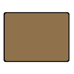 Brownish Fleece Blanket (small) by snowwhitegirl