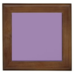 Grape Light Framed Tiles by snowwhitegirl