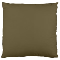 Rainy Brown Standard Flano Cushion Case (one Side) by snowwhitegirl