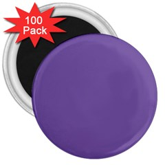 Purple Star 3  Magnets (100 Pack) by snowwhitegirl