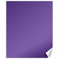 Purple Star Canvas 16  X 20   by snowwhitegirl