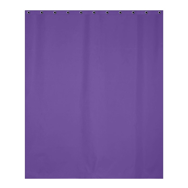 Purple Star Shower Curtain 60  x 72  (Medium)