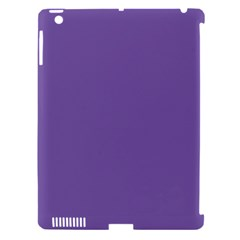 Purple Star Apple Ipad 3/4 Hardshell Case (compatible With Smart Cover) by snowwhitegirl