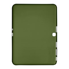 Earth Green Samsung Galaxy Tab 4 (10 1 ) Hardshell Case  by snowwhitegirl