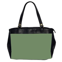 Army Green Office Handbags (2 Sides)  by snowwhitegirl