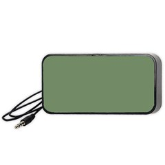 Army Green Portable Speaker by snowwhitegirl