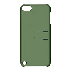 Army Green Apple Ipod Touch 5 Hardshell Case With Stand by snowwhitegirl