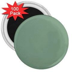 Mossy Green 3  Magnets (100 Pack) by snowwhitegirl
