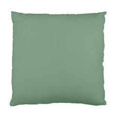 Mossy Green Standard Cushion Case (two Sides) by snowwhitegirl