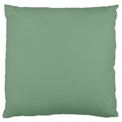 Mossy Green Large Cushion Case (two Sides) by snowwhitegirl