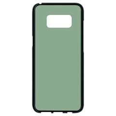 Mossy Green Samsung Galaxy S8 Black Seamless Case