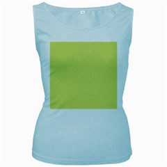 Avocado Women s Baby Blue Tank Top by snowwhitegirl
