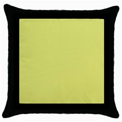 Avocado Throw Pillow Case (black) by snowwhitegirl