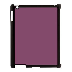 Medium Grape Apple Ipad 3/4 Case (black) by snowwhitegirl