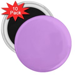 Purple Whim 3  Magnets (10 Pack)  by snowwhitegirl