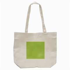 Grassy Green Tote Bag (cream) by snowwhitegirl