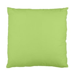 Grassy Green Standard Cushion Case (two Sides) by snowwhitegirl