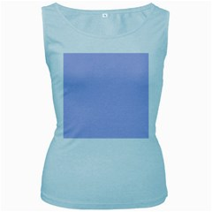 Violet Sweater Women s Baby Blue Tank Top by snowwhitegirl