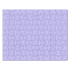 Violet Sweater Rectangular Jigsaw Puzzl by snowwhitegirl