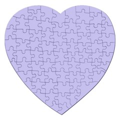Violet Sweater Jigsaw Puzzle (heart) by snowwhitegirl
