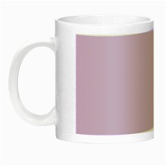 Lilac Morning Night Luminous Mugs by snowwhitegirl