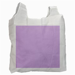Lilac Morning Recycle Bag (one Side) by snowwhitegirl