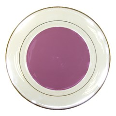 Silly Purple Porcelain Plates