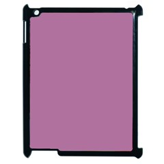 Silly Purple Apple Ipad 2 Case (black) by snowwhitegirl