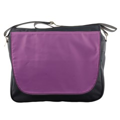 Silly Purple Messenger Bags by snowwhitegirl