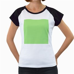 Meadow Green Women s Cap Sleeve T by snowwhitegirl