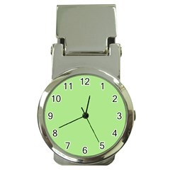 Meadow Green Money Clip Watches by snowwhitegirl