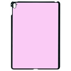 Soft Pink Apple Ipad Pro 9 7   Black Seamless Case by snowwhitegirl