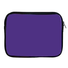 Dark Grape Purple Apple Ipad 2/3/4 Zipper Cases by snowwhitegirl