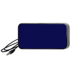 Dark Navy Portable Speaker by snowwhitegirl