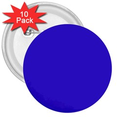 Royalty 3  Buttons (10 Pack)