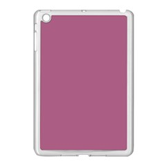 Rose Grey Apple Ipad Mini Case (white) by snowwhitegirl
